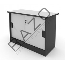 Side Sliding Door Cabinet | Office Bookcase | Office Filing Cabinet  -AS303G