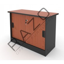 Side Sliding Door Cabinet | Office Bookcase | Office Filing Cabinet  -AS303C