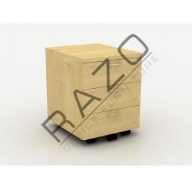 Mobile Pedestal 3D | Office Furniture  -QM3M