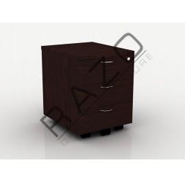Mobile Pedestal 3D | Office Furniture  -QM3W