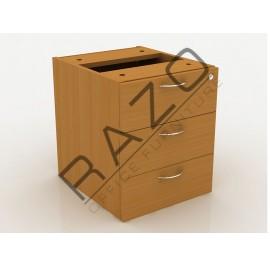 3 Drawer Hanging Pedestal | Fixed Pedestal | Office Furniture -QH3B