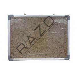 Bulletin Notice Board c/w Aluminium Frame 4' x 5'