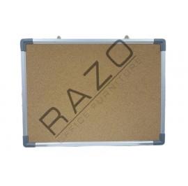Cork Notice Board c/w Aluminium Frame 3' x 3'