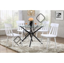 Bar Table Set | Dining Table Set | Bistro | Pub  - 11019T-56020-RCWT