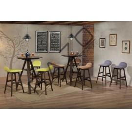 High Bar Table Chair Set | Bistro | Pub -D796T-796C