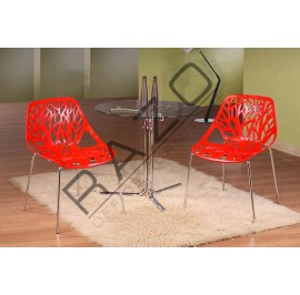 Modern Coffee Table Set | Cafe table set -D850T-845C-R