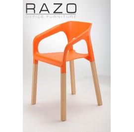 Designer Chair | Cafeteria Chair | Plastic Chair | Dining Chair | Restaurant Chair | Bar Chair -1002
