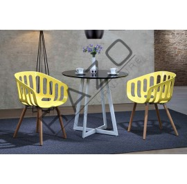 Modern Coffee Table Set   Cafe table set -D898T-896CY