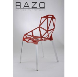Designer Chair | Cafeteria Chair | Plastic Chair | Dining Chair | Restaurant Chair | Bar Chair -1009