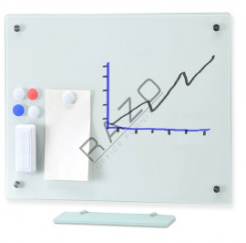 Magnetic Glass Board MGB69-1224 (6 Sizes)