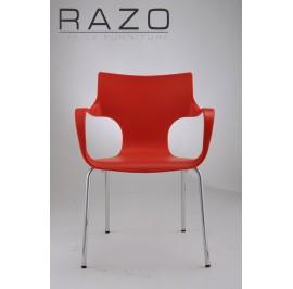 Designer Chair | Cafeteria Chair | Plastic Chair | Dining Chair | Restaurant Chair | Bar Chair -1013