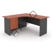 L shape Writing Table | Office Table  | Office Furniture -GL652-GH2C