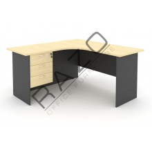 L shape Writing Table | Office Table  | Office Furniture -GL652-GH3M