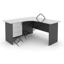 L shape Writing Table | Office Table  | Office Furniture -GL652-GH3G