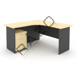 L shape Writing Table | Office Table  | Office Furniture -GL1515-GM3M