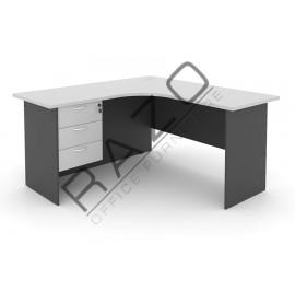 L shape Writing Table | Office Table  | Office Furniture -GL1815-GH3G