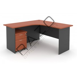 L shape Writing Table | Office Table  | Office Furniture -GL1815-GM2C