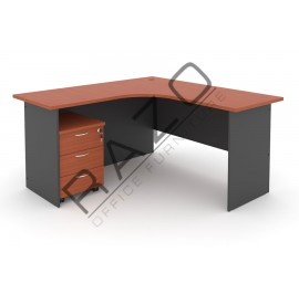 L shape Writing Table | Office Table  | Office Furniture -GL1815-GM3C