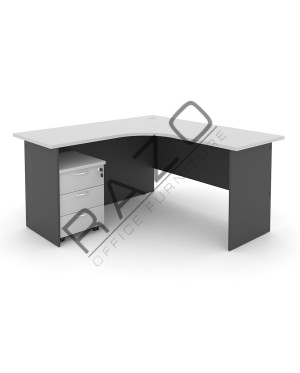 L shape Writing Table | Office Table  | Office Furniture -GL1815-GM3G