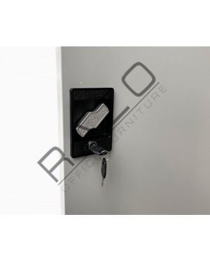 Executive Full Height Swinging Door Steel Cupboard   Steel Furniture - LXR33B