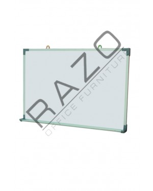 Single Sided Magnetic Whiteboard 3' x 3' / 3' x4' / 3' x 5' / 3' x 6' / 4' x 4' / 4' x 5' / 4' x 6' / 4' x8'