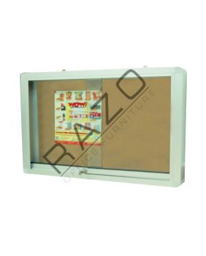 Sliding Glass Door Cork Notice Board c/w Aluminium Frame 2' x 3' / 3' x 4' / 3' x 5' /3' x 6' / 4' x 4' / 4' x 5' / 4' x 6' / 4' x 8'