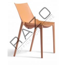 Designer Chair | Cafeteria Chair | Plastic Chair | Dining Chair | Restaurant Chair | Bar Chair -3006