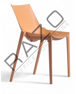 Designer Chair | Cafeteria Chair | Plastic Chair | Dining Chair | Restaurant Chair | Bar Chair -3006