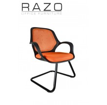 Mesh Chair | Visitor Chair | Netting Chair | Office Chair -NT-17V