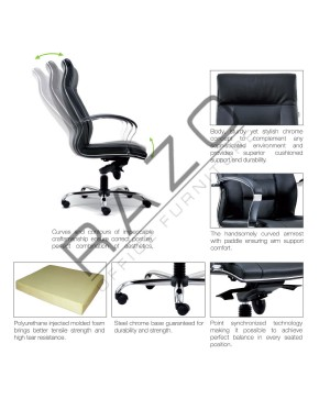 Visitor Executive Chair | Office Chair -E2074S