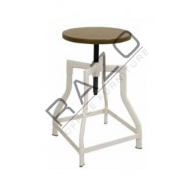 Cafeteria Stool| Restaurant Stool -SI-DUNCAN-LOW-STOOL