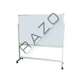 Double Sided Magnetic Whiteboard 4' x 5'