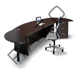 Director Table Set | Office Furniture -QX1800