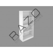 Full Height Open Shelf Cabinet | Office Bookcase | Office Filing Cabinet -FM-OT
