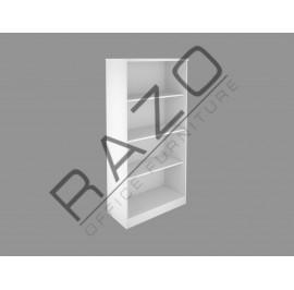 Full Height Open Shelf Cabinet | Office Bookcase | Office Filing Cabinet -FM-OT