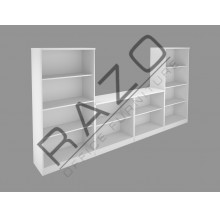 Office Cabinet Set | Office Bookcase | Office Filing Cabinet -FM-S1