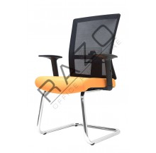 Conference Mesh Visitor Chair | Netting Chair -E2763S