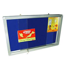 Sliding Glass Door Velvet Board