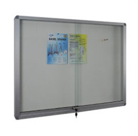 Sliding Glass Door Soft Notice Board